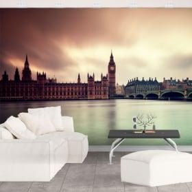 Murales Big Ben Inghilterra
