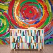 Murales cerchi di pittura