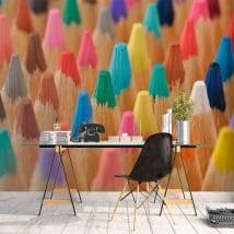 Murales matite colorate