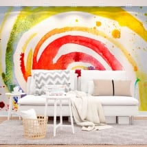 Murales tratti di vernice