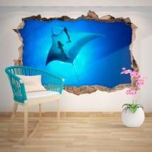 Vinile decorativo Manta 3D