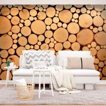 Murales tronchi d'albero