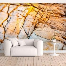 Murales in vinile roccia della costa