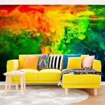 Murales in vinile psichedelico