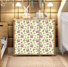 Vinile e adesivi decorare i mobili per bambini