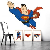Sticker murale superman