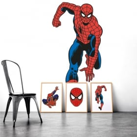 Vinyle décoratif spiderman