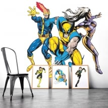 Vinile decorativo muri x-men