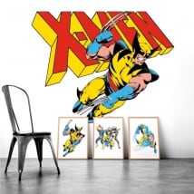 Sticker murale x-men