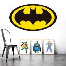 Sticker murale batman logo
