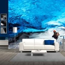 Murales in vinile ghiacciaio skaftafell