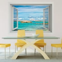 Vinili muri crociera alle bahamas 3d