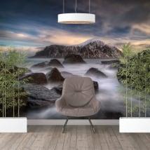 Murales vinili isole lofoten norvegia