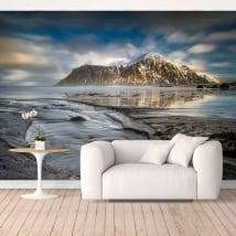 Murale in vinile isole lofoten norvegia