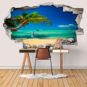 Vinili muri spiagge repubblica dominicana 3d