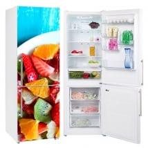 Vinili per frigorifero frutta sul piatto