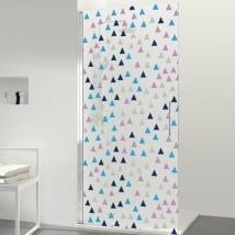 Vinile per schermi triangoli colorati