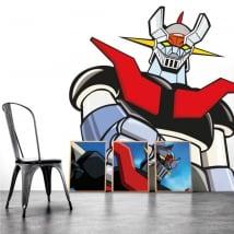 Sticker murale mazinger z