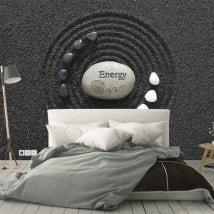 Murales pietre zen energia