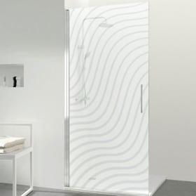 Vinili per schermi doccia increspati