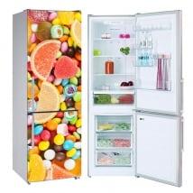 Vinili per frigoriferi dolci e gelatine
