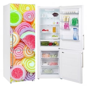 Vinili refrigeratori e frigoriferi gelatine