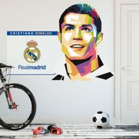 Vinili cristiano ronaldo real madrid calcio