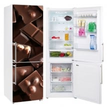 Vinili refrigeratori e frigoriferi cioccolatini