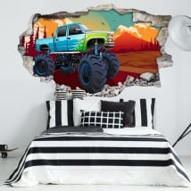 Vinili muri monster truck 3d