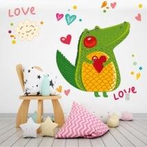 Vinili muri coccodrillo e il cuore ama