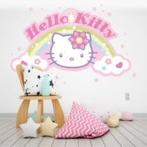 Sticker murale hello kitty