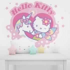 Vinile e adesivi muri hello kitty