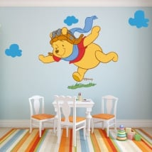 Vinile per bambini winnie the pooh aviator