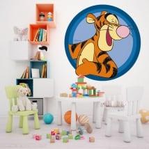 Vinili muri bambini tigger winnie the pooh