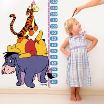 Vinile per bambini metro winnie the pooh