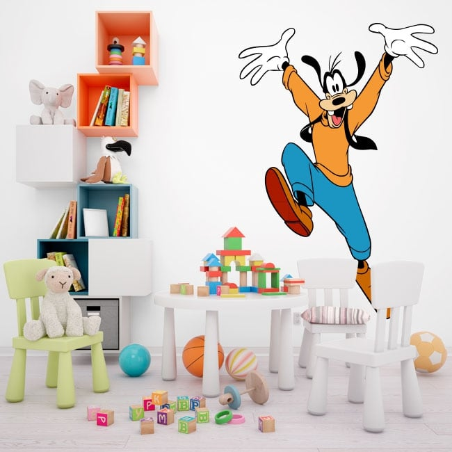 Vinile e adesivi per bambini goofy - Adesivi per mobili bambini ...