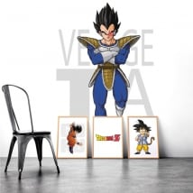 Vinile e adesivi dragon ball vegeta
