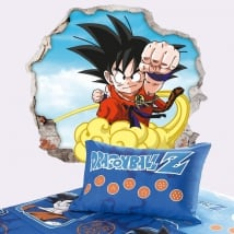 Vinili muri dragon ball son goku 3d
