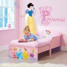 Adesivi per bambini principesse disney