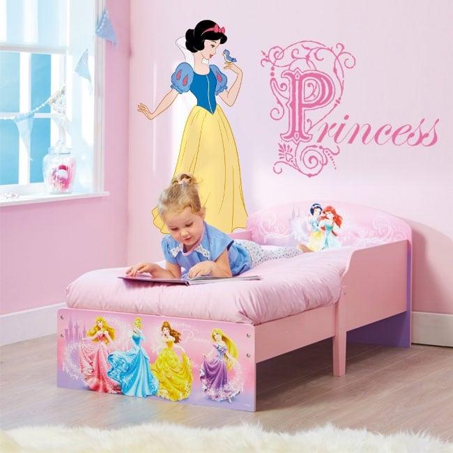 Adesivi Murali Principesse Disney.Adesivi Per Bambini Principesse Disney