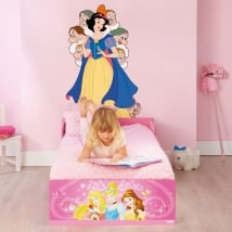 Sticker murale disney biancaneve