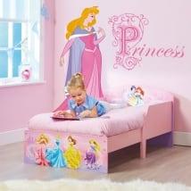 Vinile bambini principessa disney