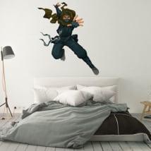 Sticker murale sagoma ninja