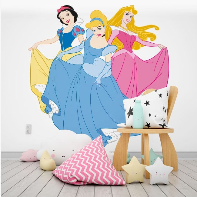 Sticker murale e adesivi principesse disney