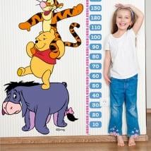 Vinile per bambini metri di altezza winnie the pooh