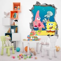 Vinili spongebob decorare la stanza dei bambini
