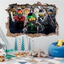 Vinile e adesivi lego ninjago 3d