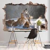 Vinili muri tigri del bengala 3d