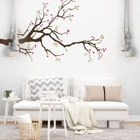Vinile decorativo fiori girasoli