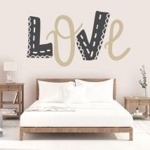 Vinile e adesivi amare decorazione di pareti e oggetti